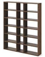 TemaHome Boekenkast Pombal Comp 2010-018 - B182 x D34 x H224 cm - Walnoot