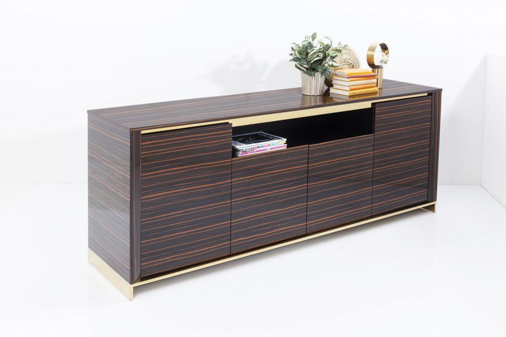 Kare Design SALE Dressoir Boston - 200x81x50 - Bruin