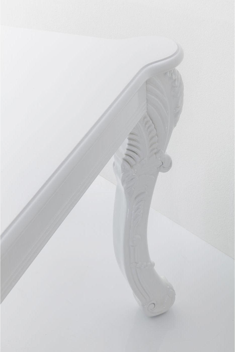 Kare Design - Janus Eettafel - 220x90x75 - Hoogglans Wit