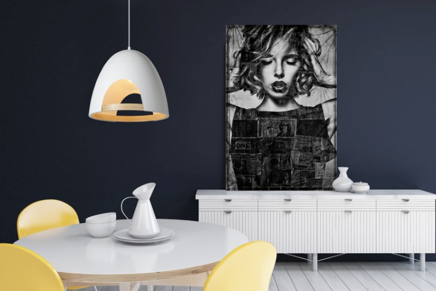 Lucide Verstelbare Hanglamp Gaillon 1-LichtsØ39 X H36 Cm - Metaal Wit
