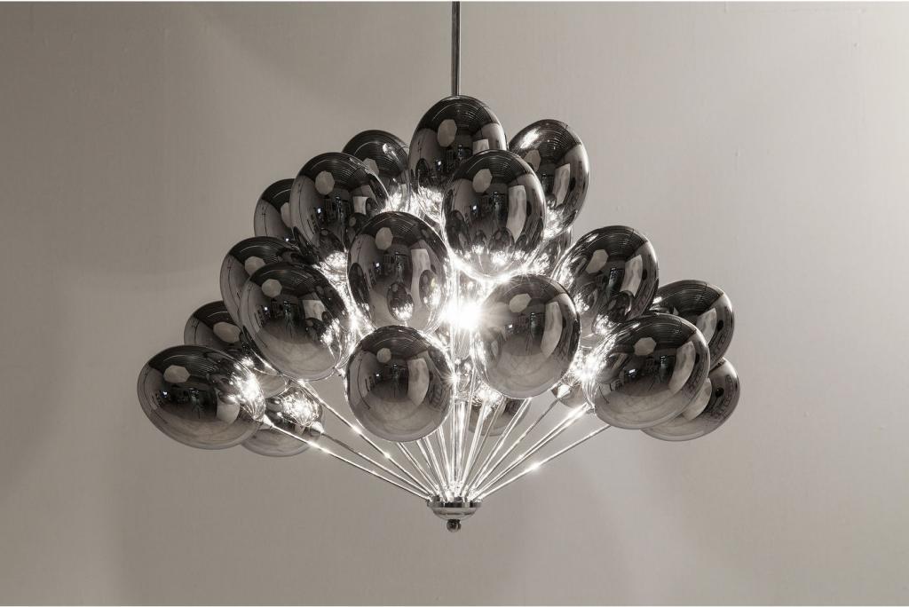 Kare Design - Hanglamp Silver Balloons