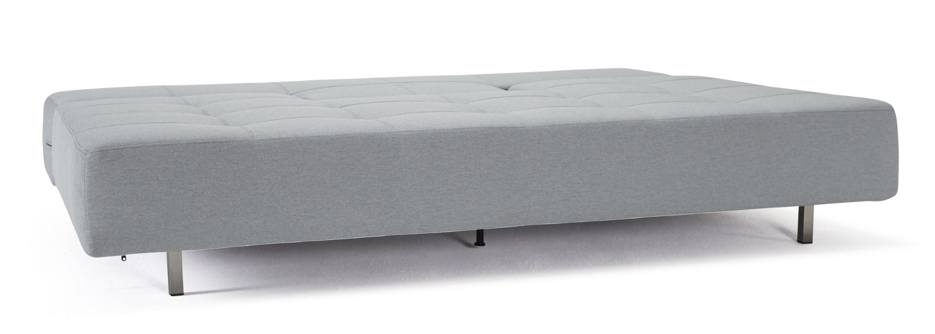 Innovation Slaapbank Long Horn Excess - Stof Twist Granite 565 Grijs