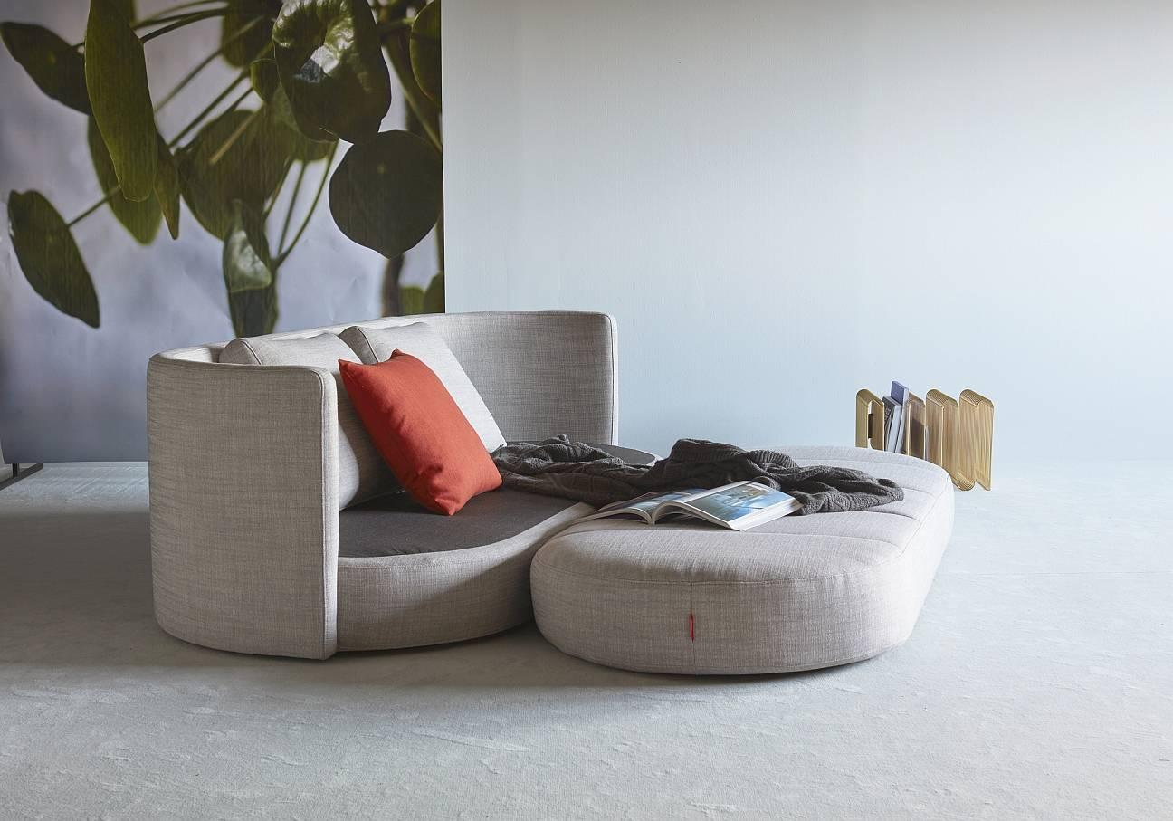 Innovation Slaapbank Villum- Stof Linen Ash Grey 613