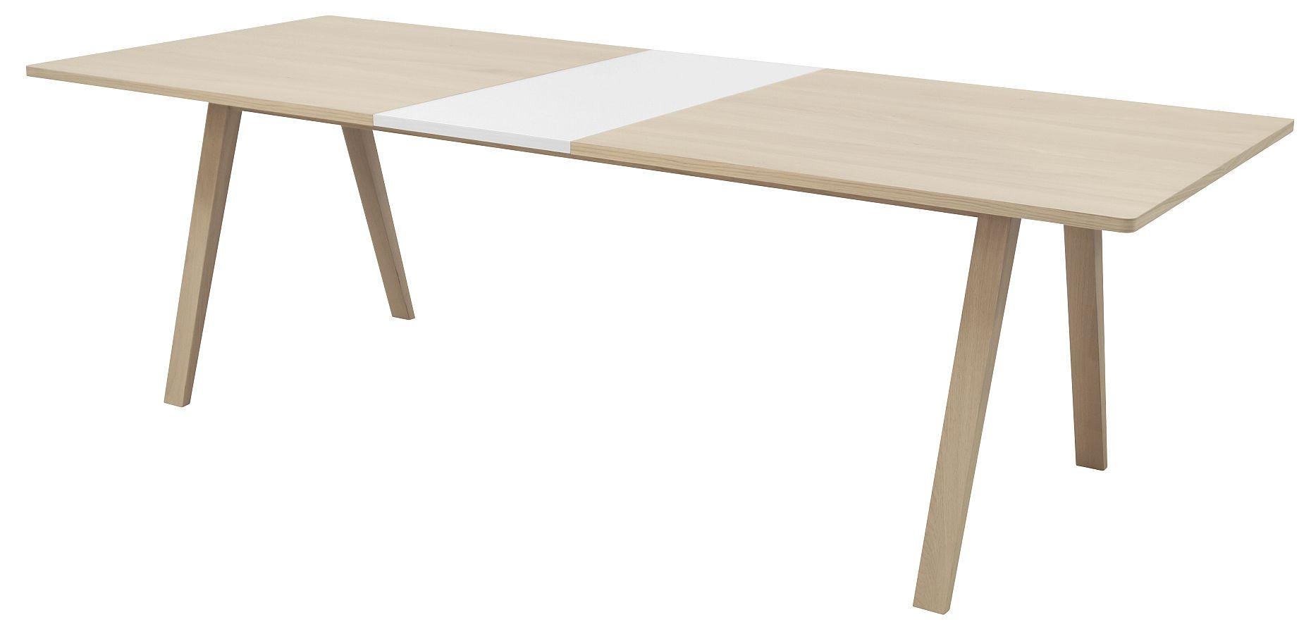 Interstil Uitschuifbare Tafel Miso - 200/245 X 100 X 75 Cm - Eiken - Inclusief 1 Verlengstuk