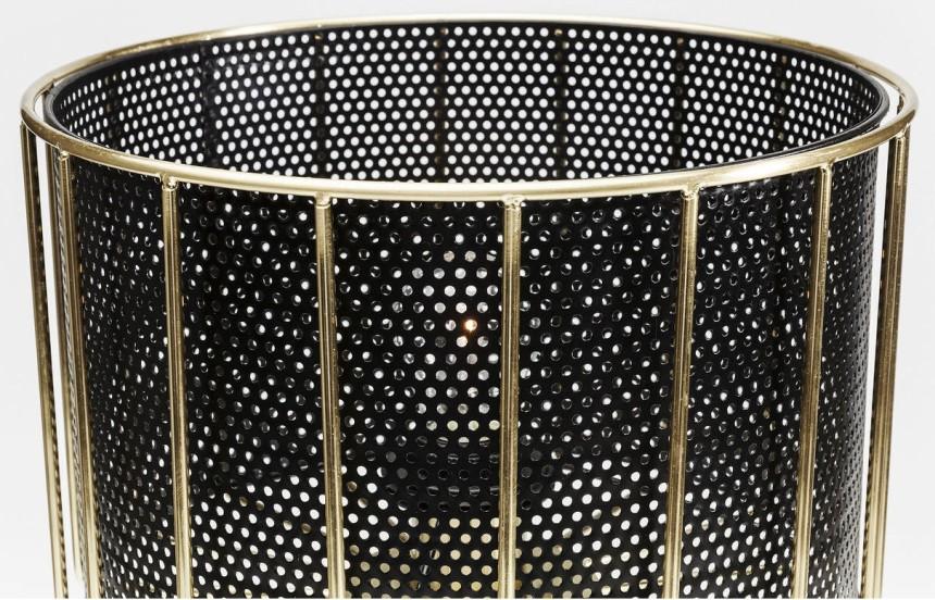 Kare Design Tafellamp Wire Bowl 1-LichtsØ30 X H50 Cm - Zwart