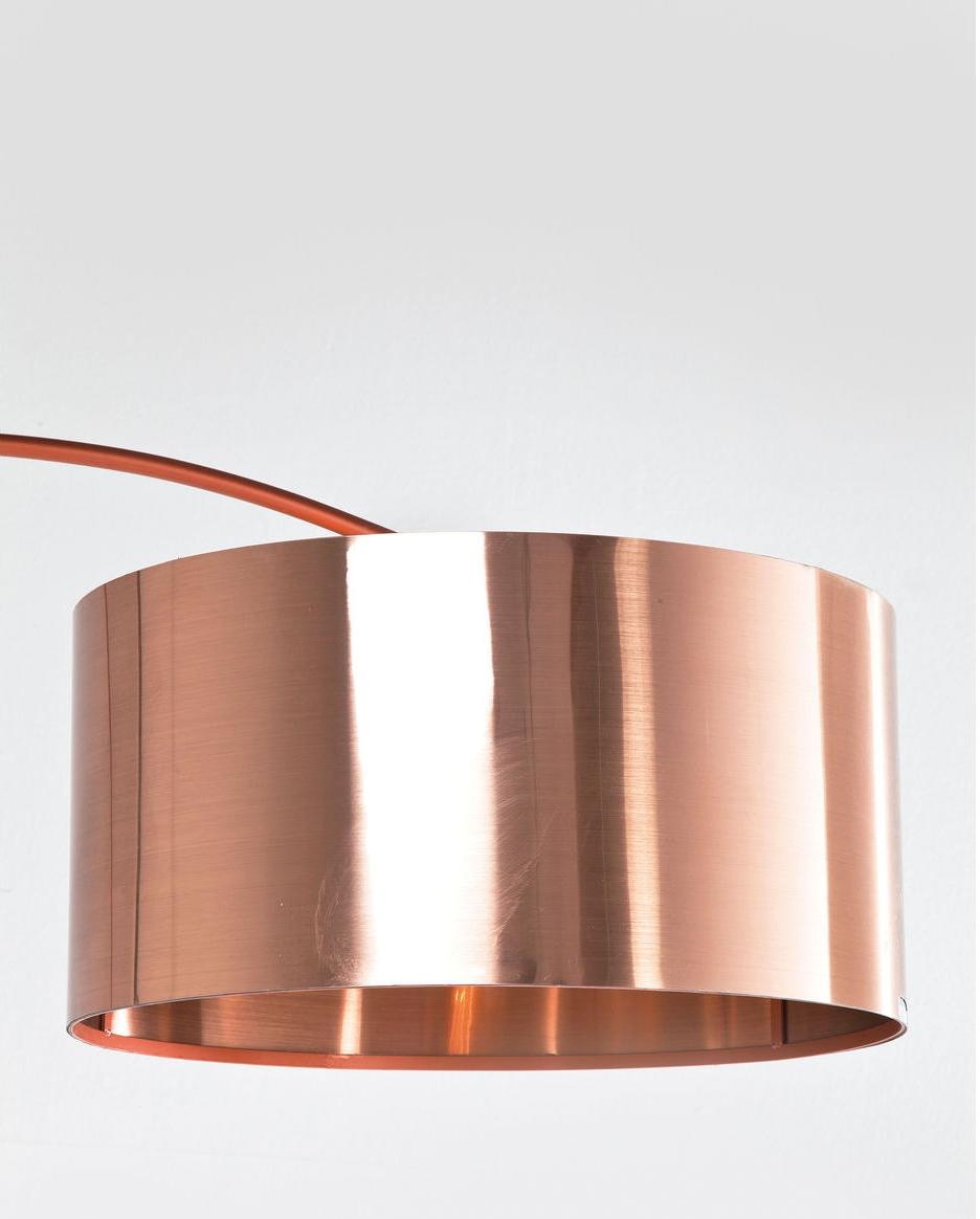 Kare Design Booglamp Gooseneck - Koper