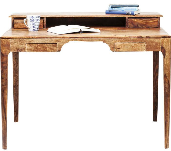 Kare Design Bureau Brooklyn Nature - L110 X B70 X H85 Cm - Sheesham Hout
