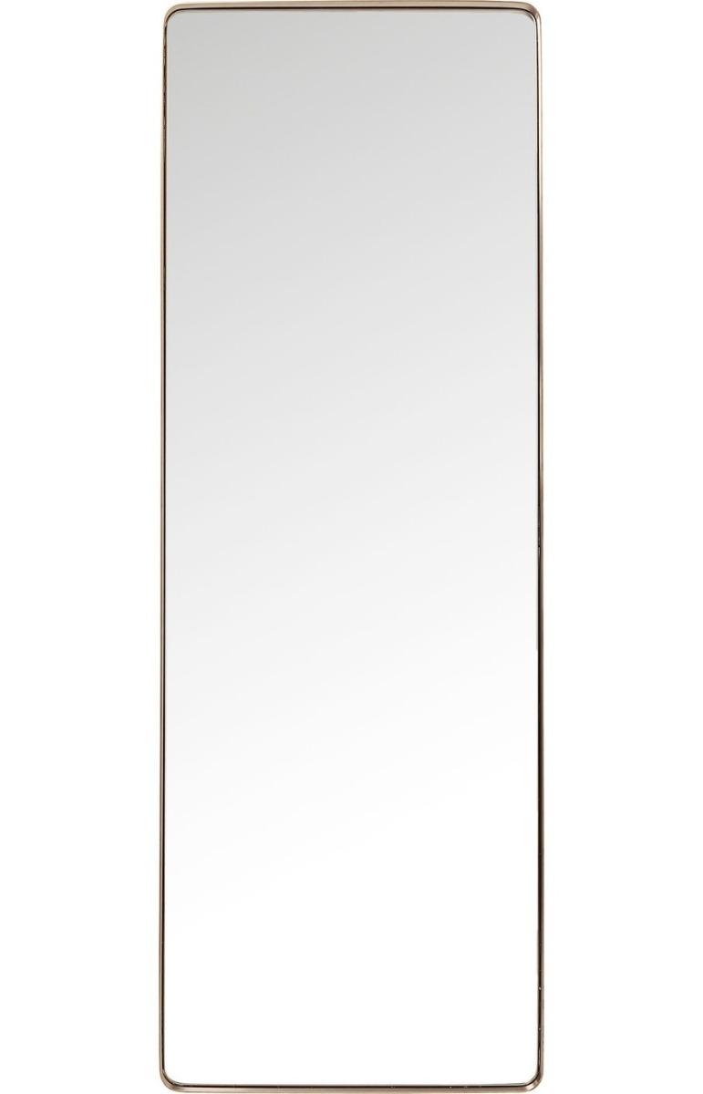 Kare Design Curve Spiegel Rechthoek - B70xH200 Cm - Koper
