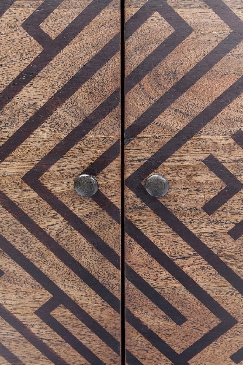 Kare Design - Ethno Dressoir - 3 Deurs - 169x40x78 - Mangohout