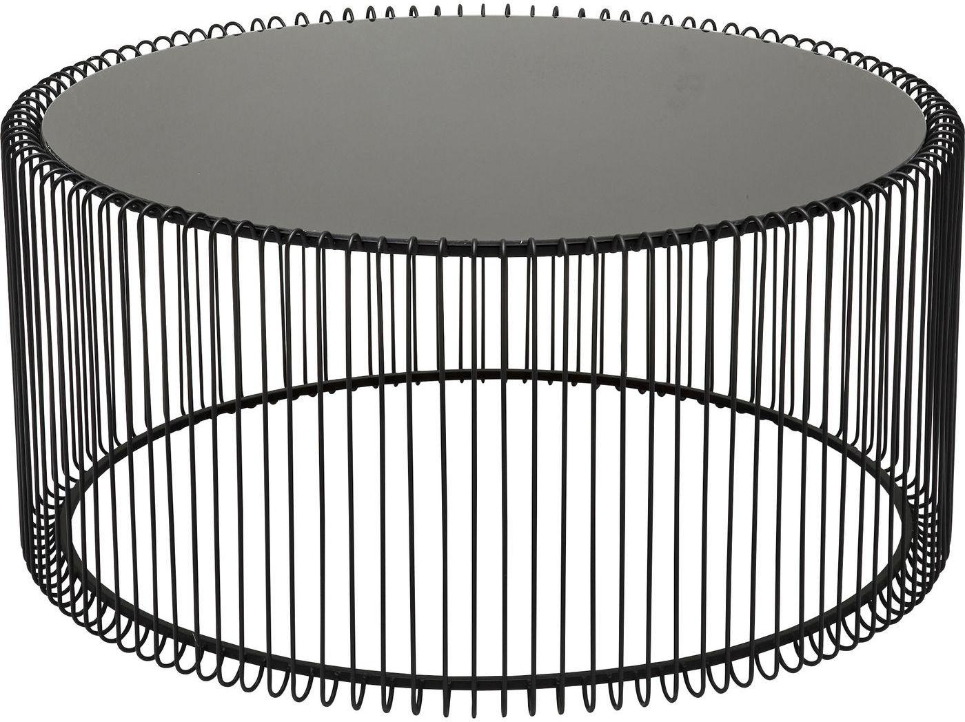 Kare Design Set 2 Salontafels Wire - Zwart