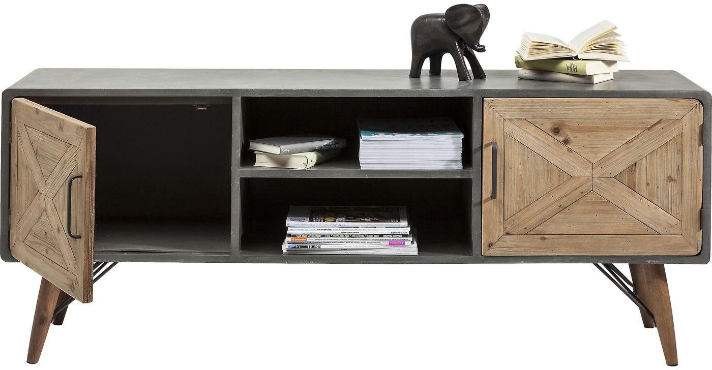 Kare Design TV Meubel X Factory 2 Deurs - L160 X B40 X H56 Cm