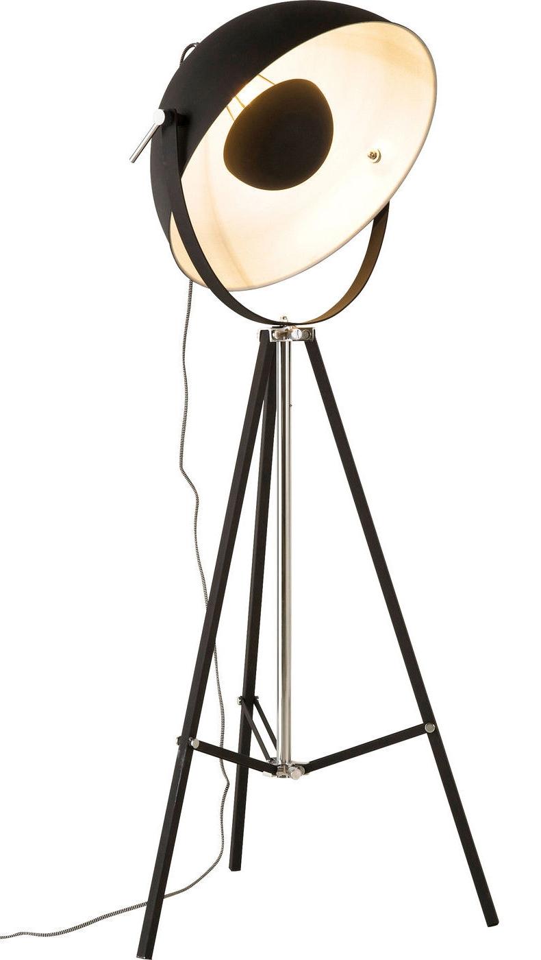 Kare Design Vloerlamp Bowl - Zwart