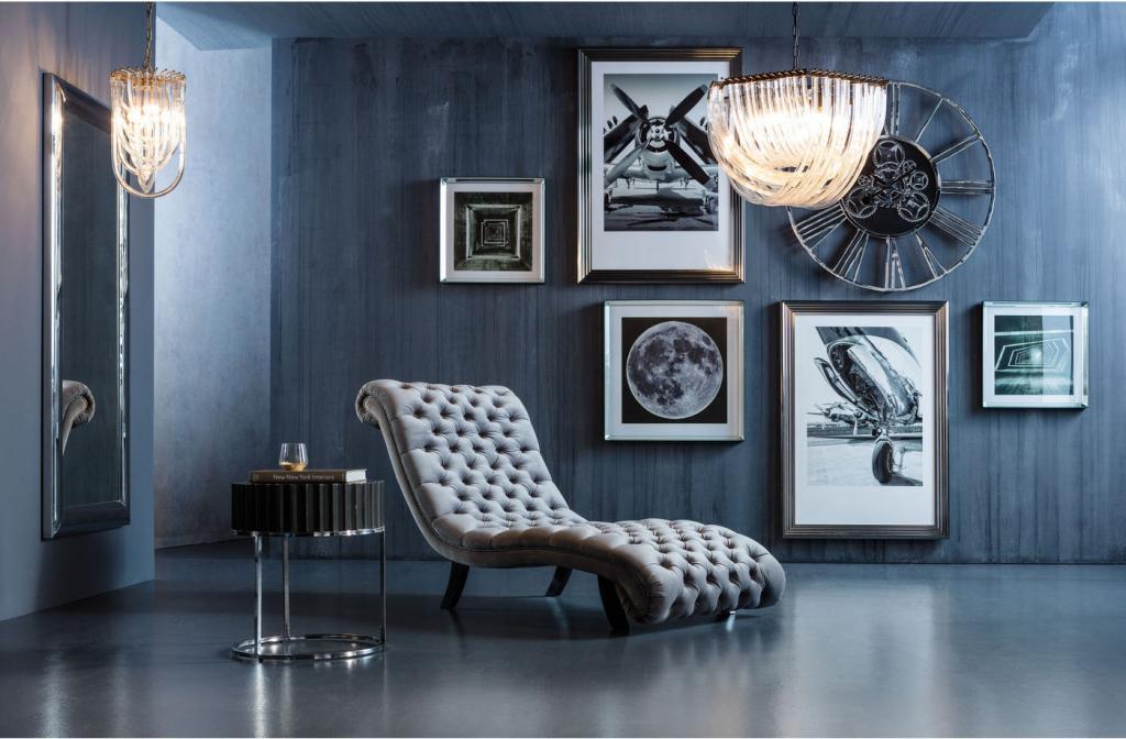Kare Design - Relax Fauteuil My Desire - Fluweel Zilvergrijs