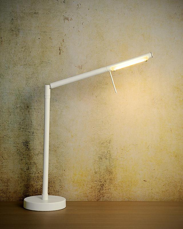 Lucide Bureaulamp Bergamo - LED - Wit