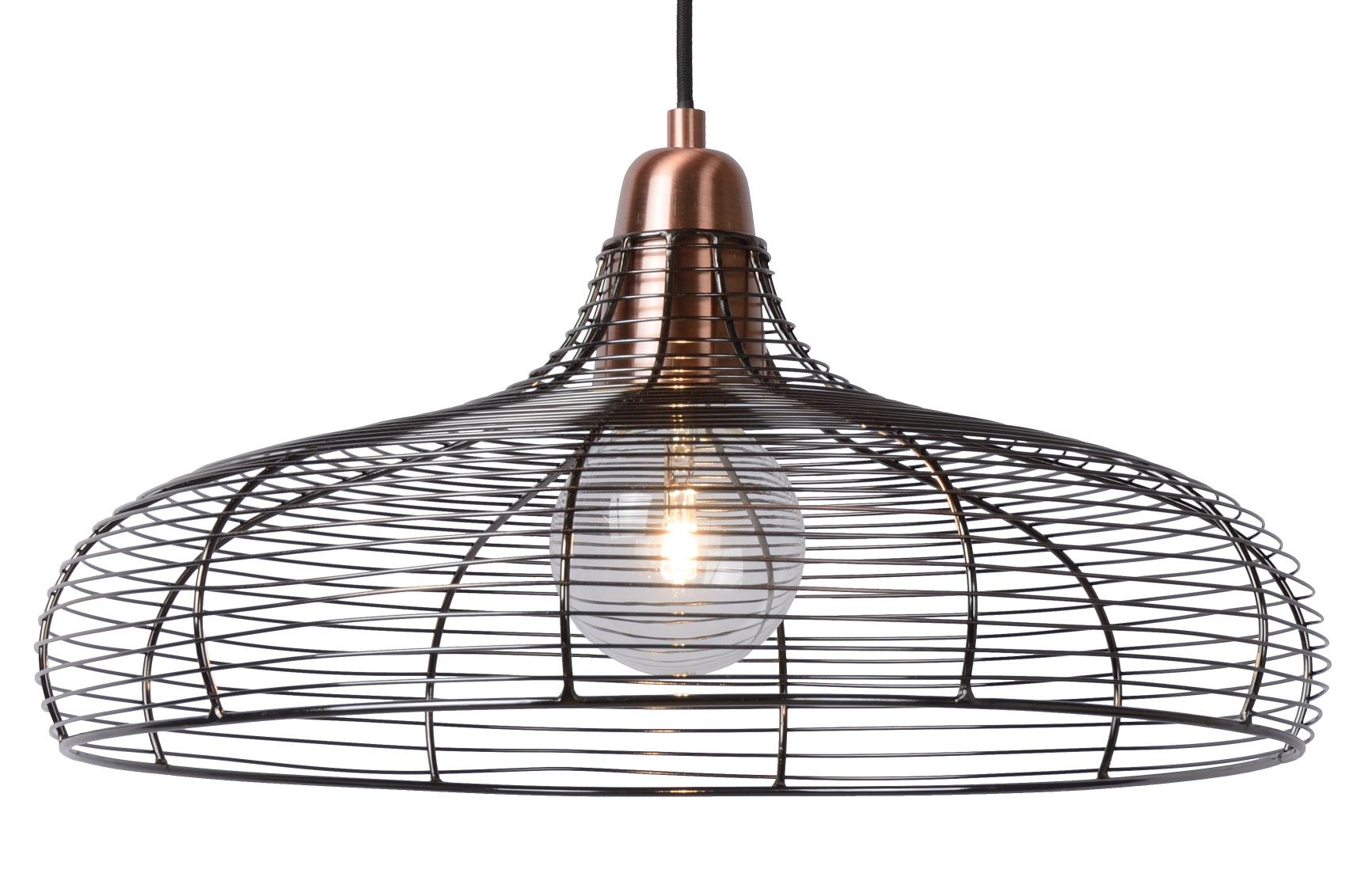 Lucide Hanglamp Moino -Ø48 Cm - Koper Kleur