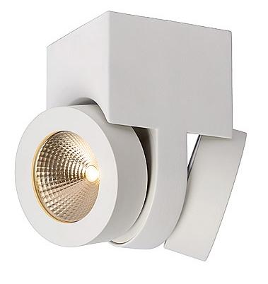 Lucide Plafondspot Mitrax 2 Lichts - Blok - Dimbare LED - Mat Wit