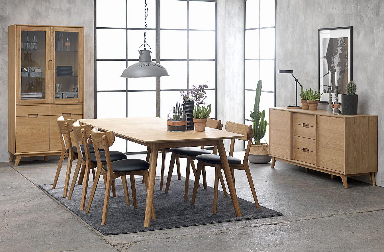 24Designs Sandved Salontafel - 110x70x45 - Eiken