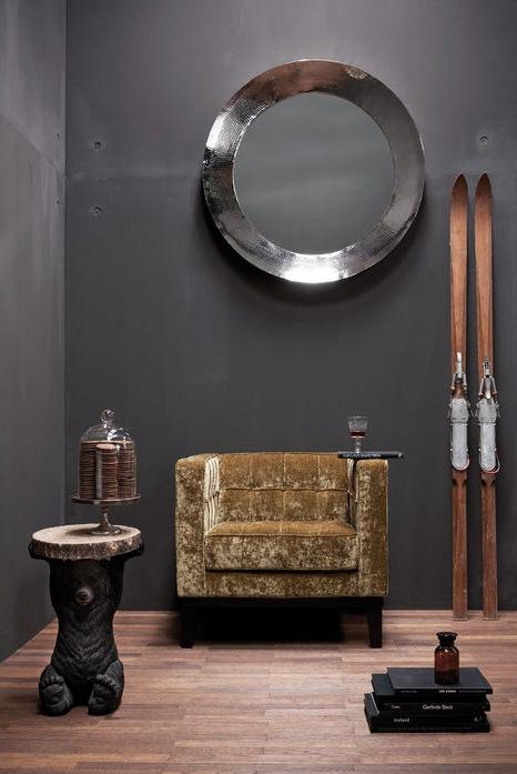 Kare Design Fauteuil Mirage - Velvet Goud