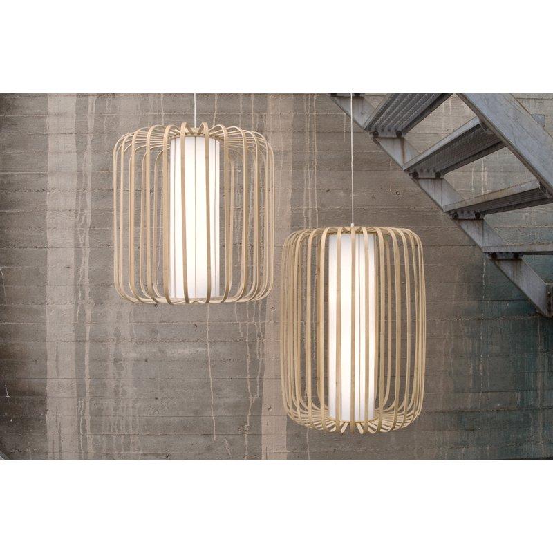 Lasfera Hanglamp Moolin Tall -Ø60 X H72 Cm - Bamboe