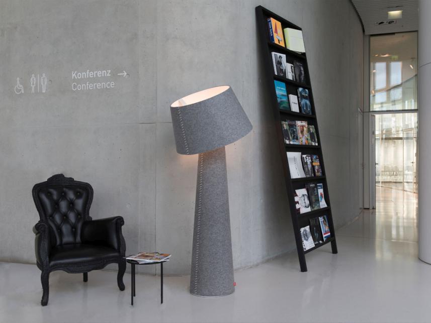 Moree Alice XL VloerlampØ70x172 Cm - Grijs