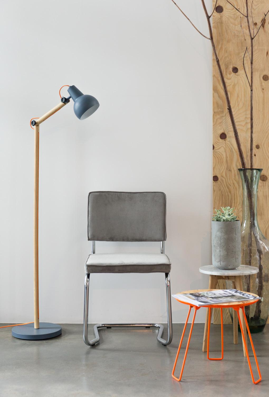 Zuiver Vloerlamp Study - Grijs