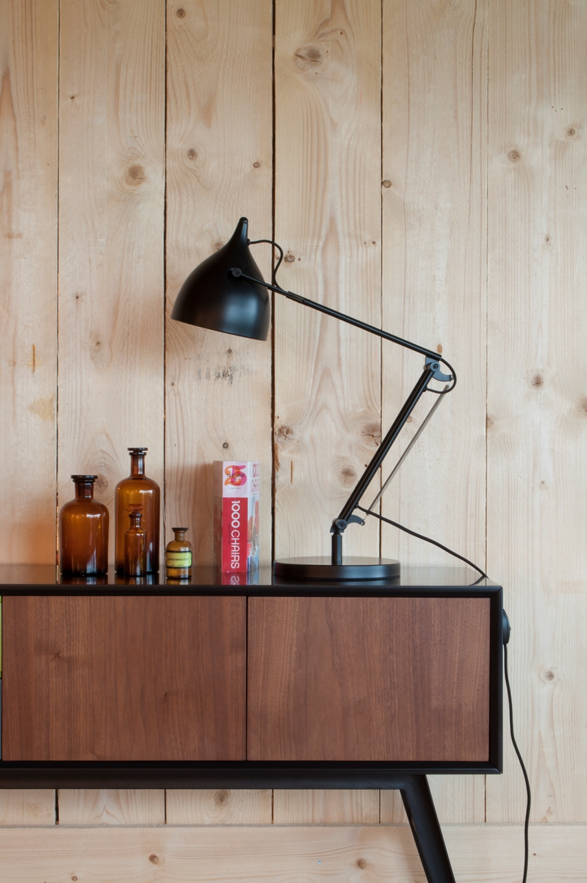Zuiver Tafellamp Reader - Zwart