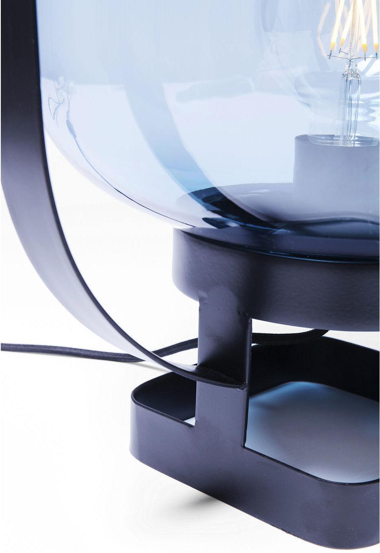 Kare Design - Tafellamp Jupiter - Blauw - Zwart Frame
