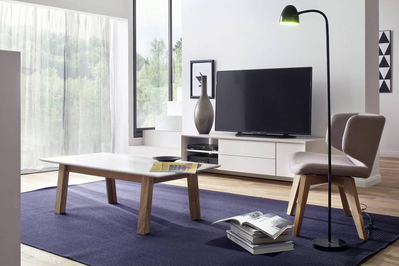 Tenzo TV Meubel Profil - 150x47x44 - Mat Wit