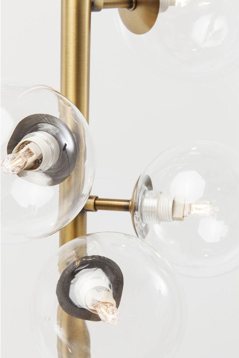Kare Design - Vloerlamp Bello Sette - 7-lichts - H166 Cm - Messing