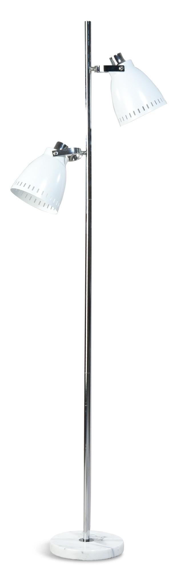 ETH Vloerlamp Acate - 2-Lichts - Mat Wit