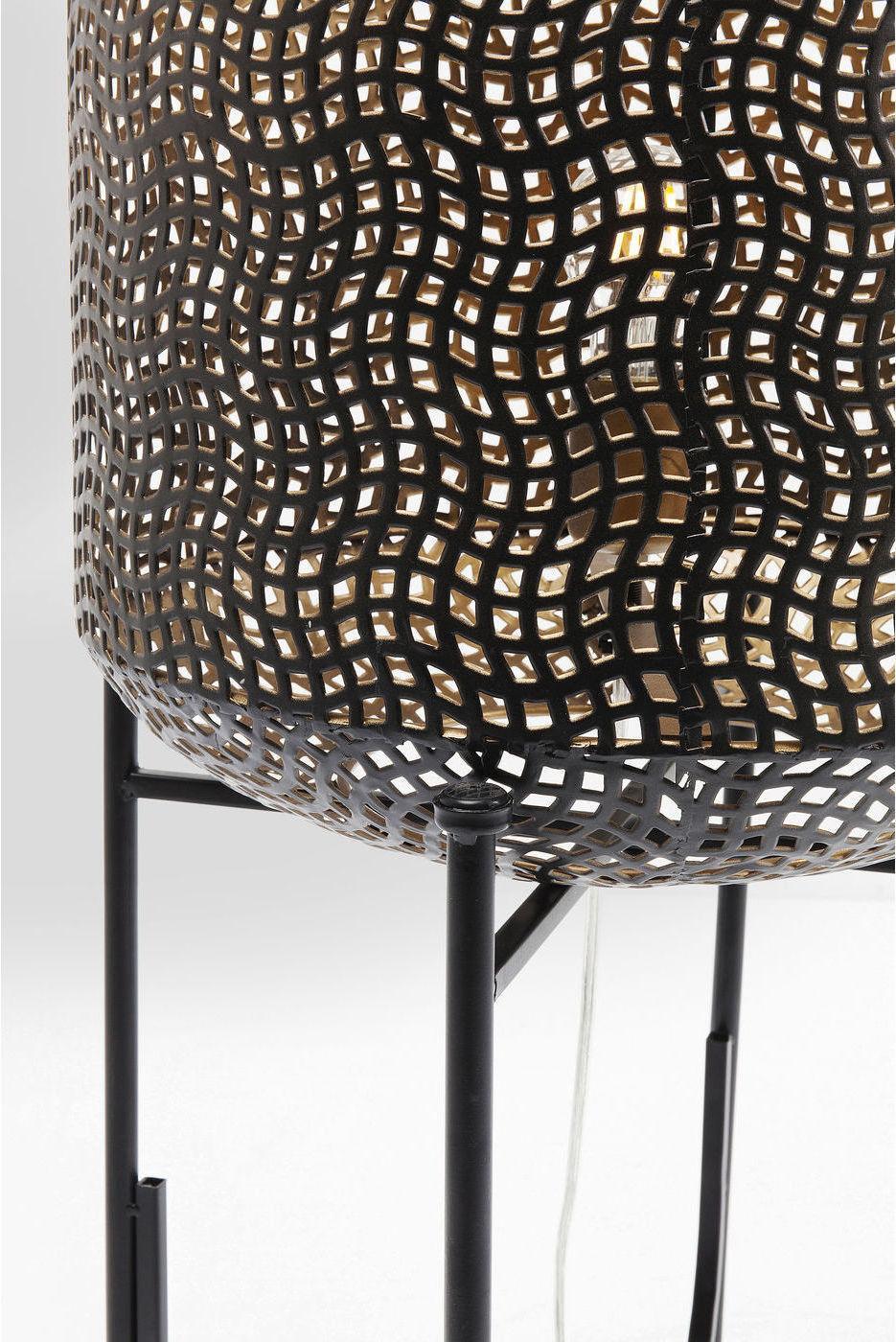 Kare Design - Vloerlamp Oasis - H92 Cm - Zwart