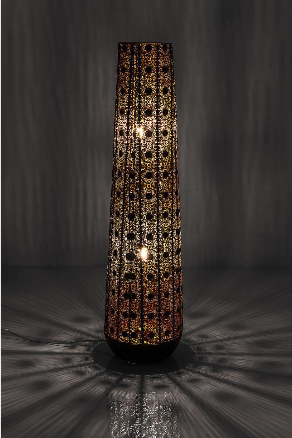 Kare Design - Vloerlamp Sultan Cone - H120 Cm - Zwart