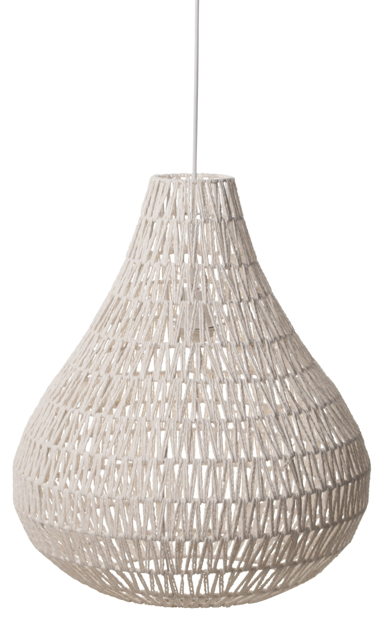 Zuiver Hanglamp Cable Drop -Ø45 Cm - Wit