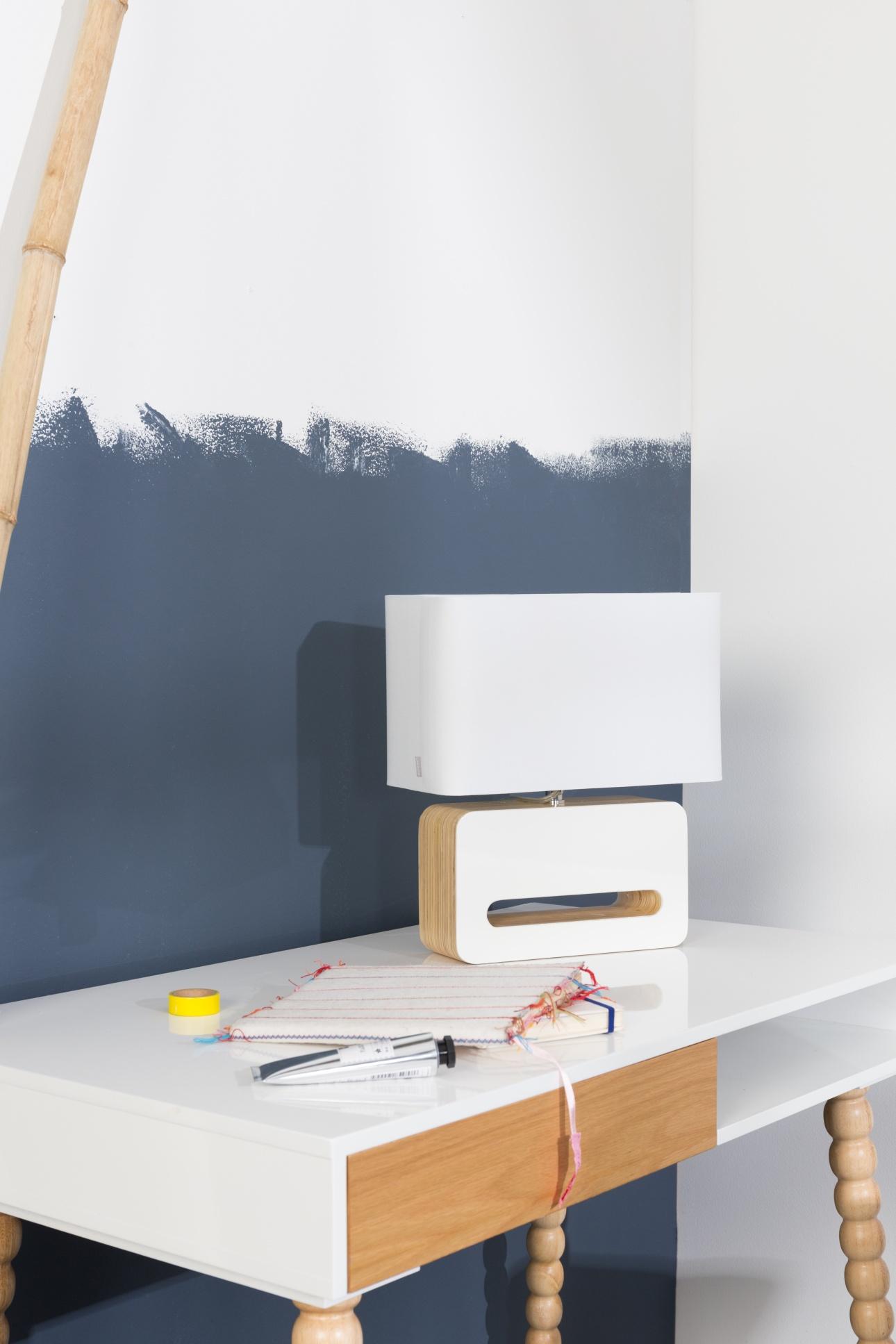 Zuiver Tafellamp Wood - Wit