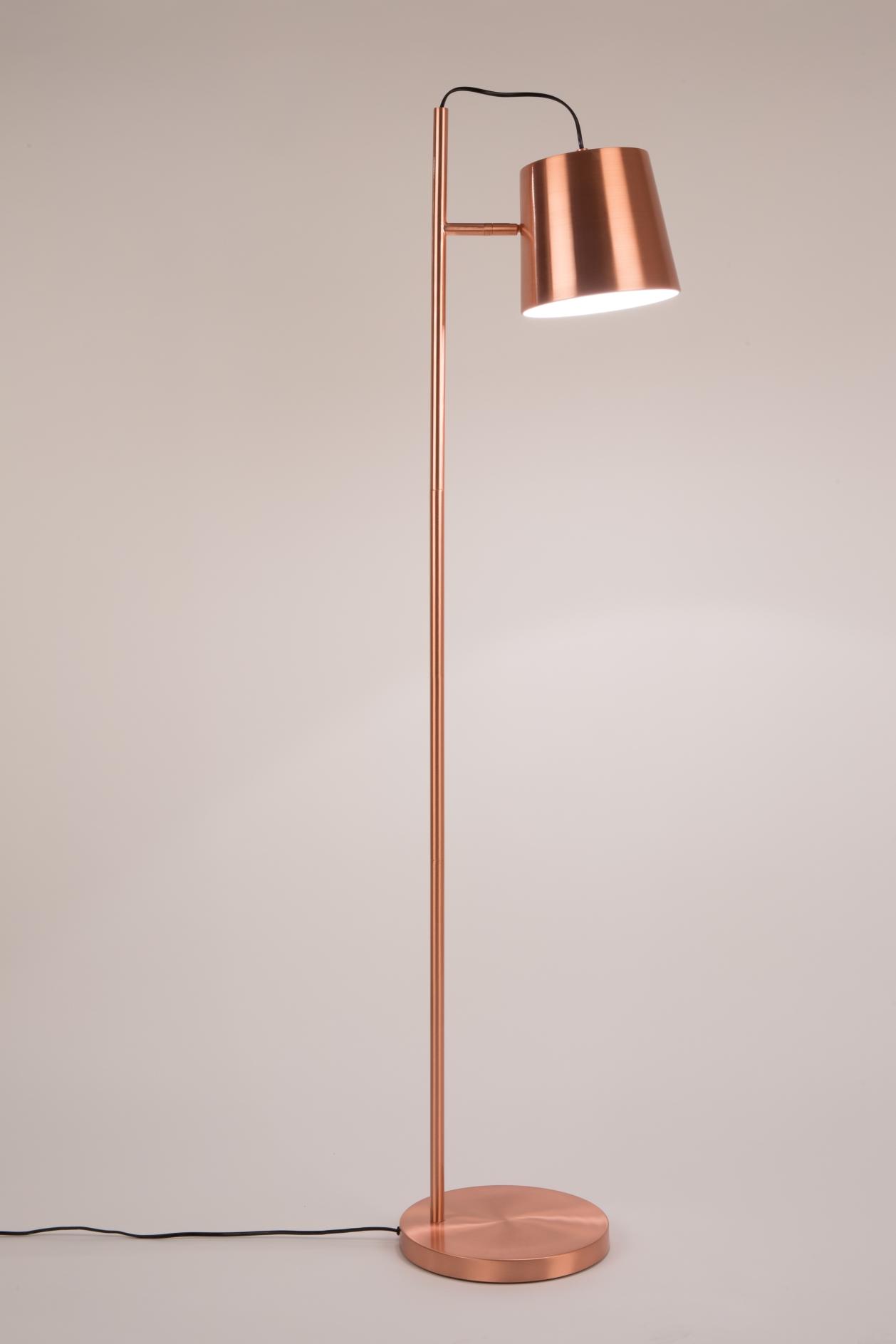 Zuiver Vloerlamp Buckle Head - Koper