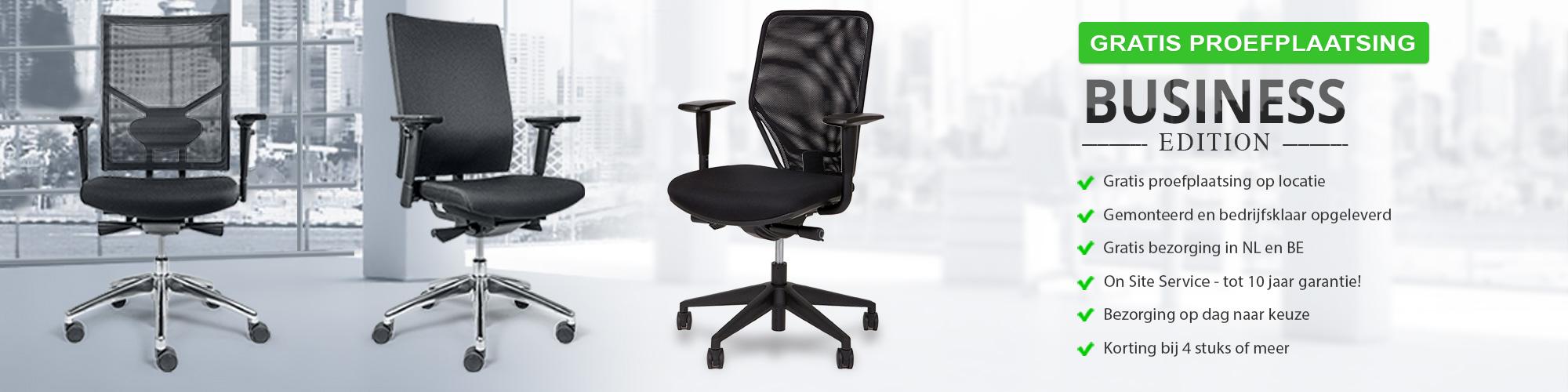 Nieuwe Bureau Stoel.Proefplaatsing Bureaustoelen