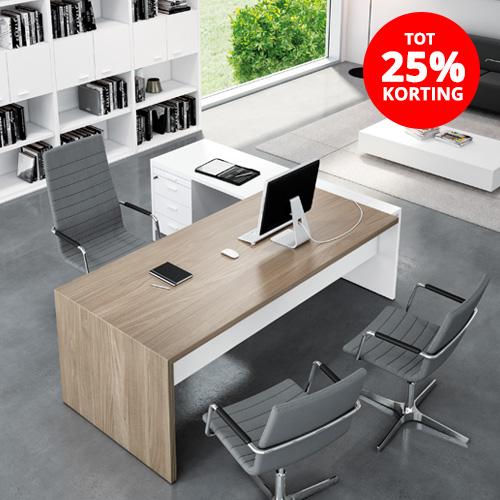 TOT 25% korting op kantoormeubilair
