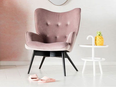 Kare Design Fauteuil Vicky
