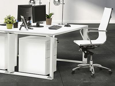 Witte bureaustoelen