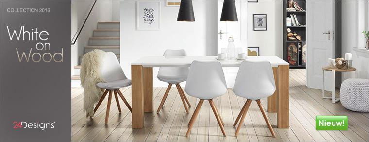 Witte kasten en dressoirs eikenhout designonline24 - Witte meubels en rode ...